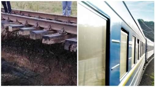 Укрзализныця возобновила движение поездов на Буковине, где произошел обвал грунта