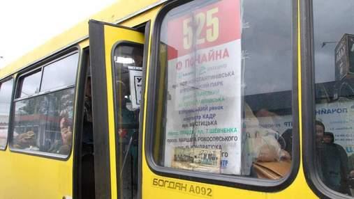 У КМДА розповіли про жахливі порушення, які виявили у маршрутках Києва за день перевірок