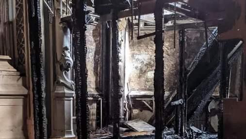 В КГГА жестко обратились в Министерство культуры из-за пожара в костеле святого Николая