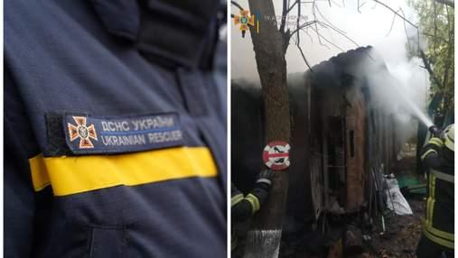 В киевском Гидропарке во время пожара нашли тело человека