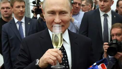 """Осередок """"Партії політики Путіна"""" безперешкодно працює в Києві"""
