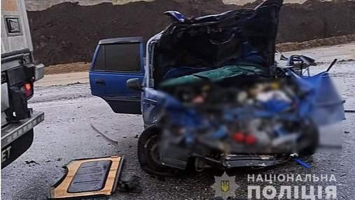 На Полтавщине произошла авария с 4 пострадавшими, среди них – ребенок