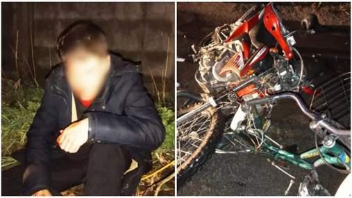 На Київщині 16-річний мотоцикліст збив велосипедистку: жінка померла в лікарні