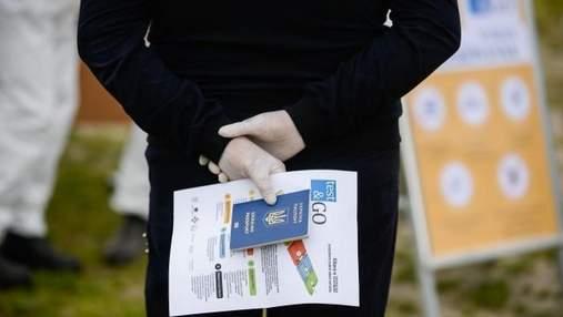 За місяць прикордонники виявили понад 500 недійсних COVID-сертифікатів