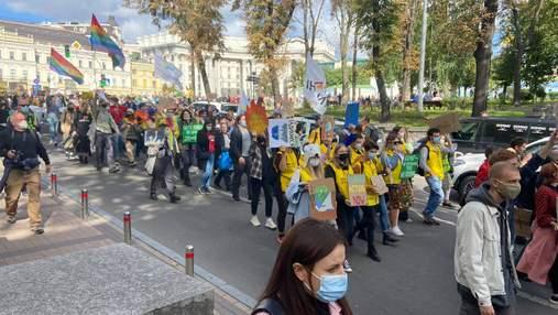 У Києві відбувся Кліматичний марш: що вимагали учасники – фото, відео з мітингу