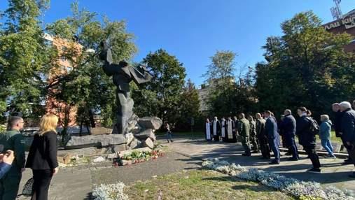 Во Львове почтили годовщину трагедии Бабьего Яра