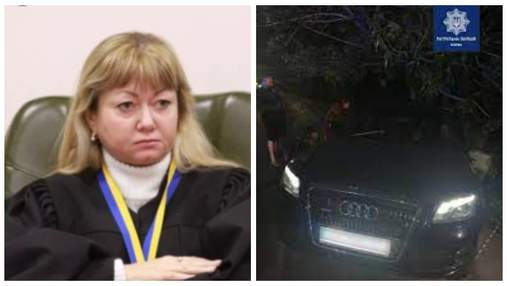 Суддю Майдану Колегаєву покарали символічним штрафом за п'яну ДТП у Києві