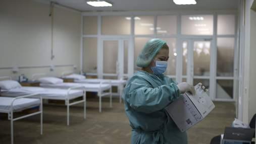 Заболеваемость растет: во Львове развернут дополнительные кровати для больных коронавирусом