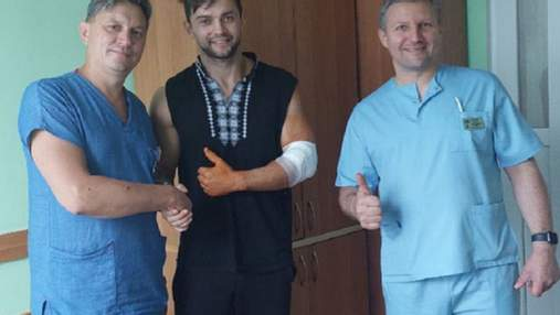 Во Львове травмированного циркового гимнаста прооперировали по новой методике