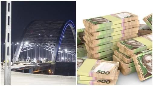 Розікрали 150 мільйонів на будівництві Подільського мосту: силовики вже вручили підозри