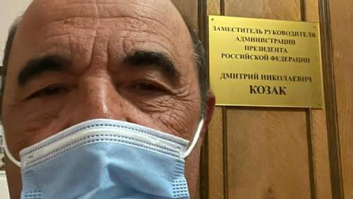 Рабинович улетел в Москву на встречу с Козаком