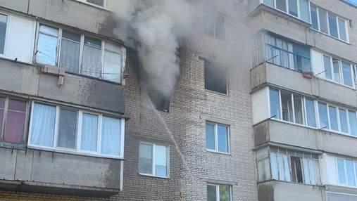 Киевлянин погиб в пожаре, пытаясь спасти детей