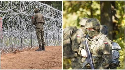 Польша почти вдвое увеличила количество военных на границе с Беларусью