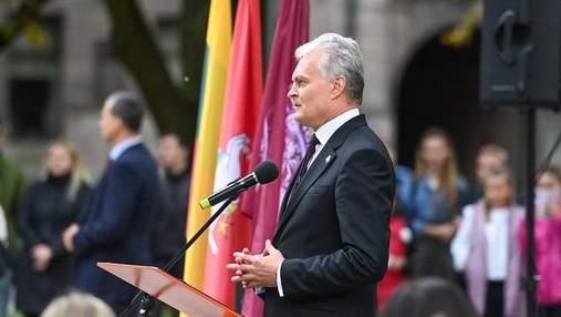 Маємо надіслати сигнал, – президент Литви виступив за інтеграцію України в єдиний ринок ЄС