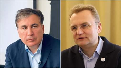 Саакашвили написал Садовому и надеется вернуться в Украину