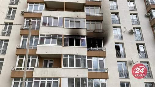 Люди эвакуировались на ощупь: во Львове жуткий пожар в новостройке забрал жизнь женщины