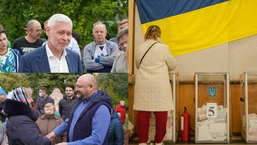 Разбитые палатки и давление на учителей: как в Харькове подходит к концу предвыборная кампания