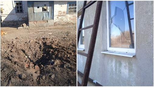 Оккупанты обстреляли Гранитное и повредили жилые дома