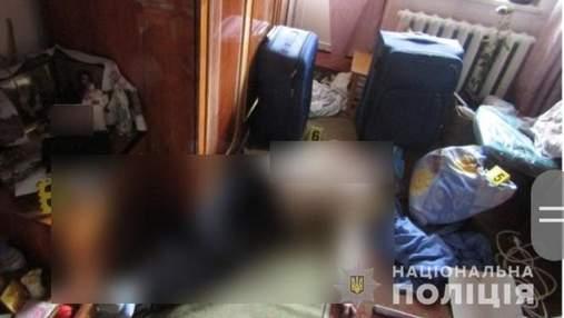 Под Киевом мужчина убил собственную мать из-за того, что не дала денег