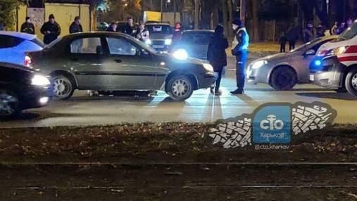 У Харкові дівчина на Infiniti на смерть збила жінку, яка переходила дорогу на переході