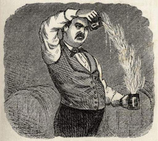 Гравюра Джеррі Томаса / Зображення Museum of the American Cocktail
