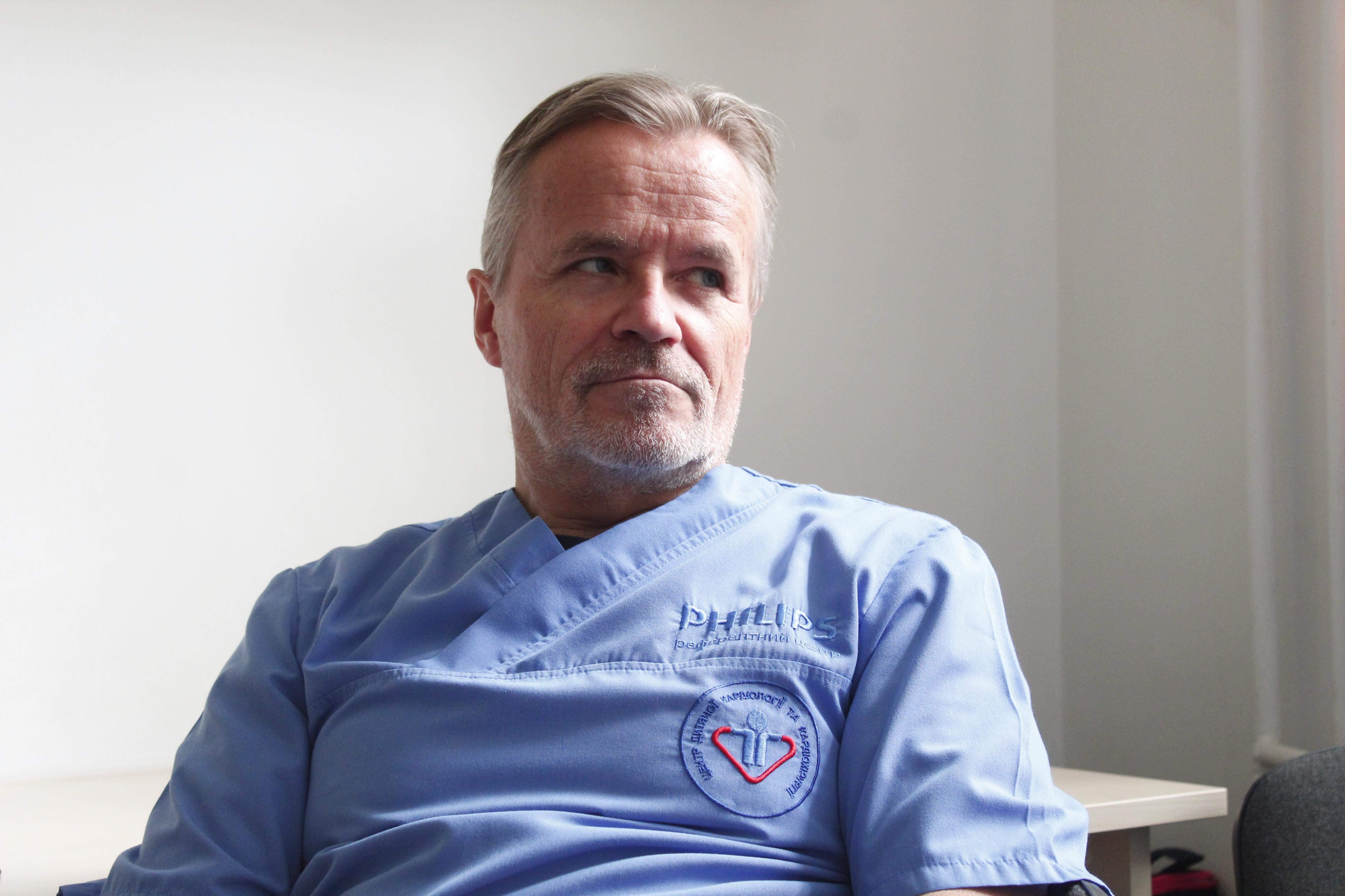 Серцево-судинний хірург  Пауль Фогт