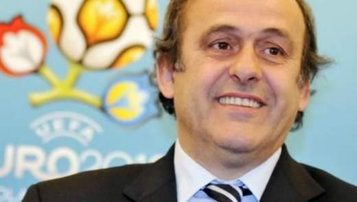 Платіні сказав, що Україна та Польща вже перемогли на ЄВРО-2012