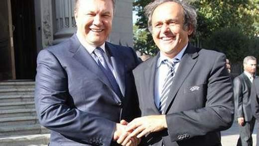 Платіні подякував Януковичу за ЄВРО-2012
