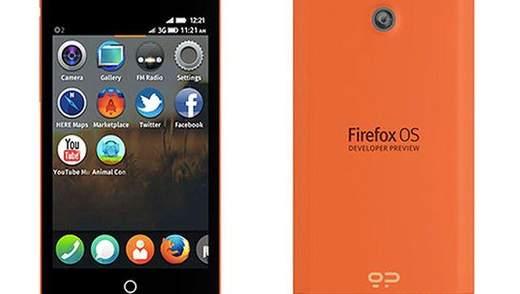 Разработчики представили смартфоны на базе Firefox OS