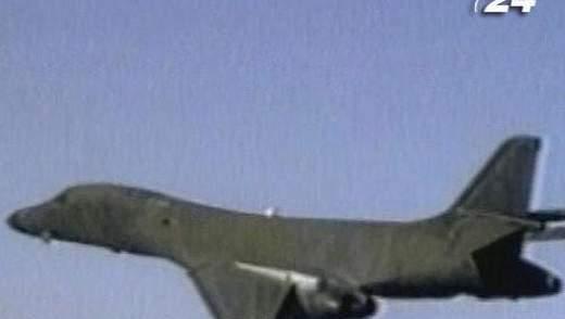 B-1В Lancer – єдиний в США, який має змінну стріловидність крила