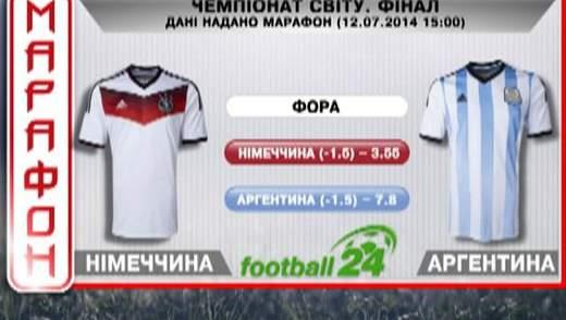 Матч дня. Німеччина проти Аргентини