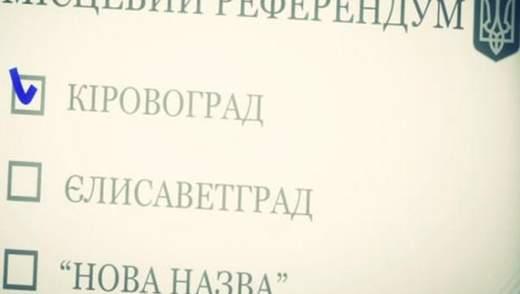 Кіровоградська область – рекордсмен з перейменувань