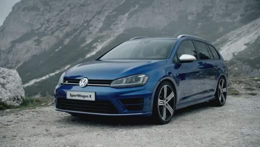 Volkswagen представив спортивний універсал Golf R Variant