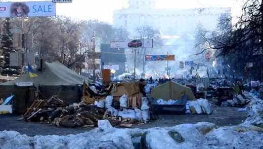 Хроніка 2 лютого 2014 року: чергове віче, кияни на барикадах на Грушевського