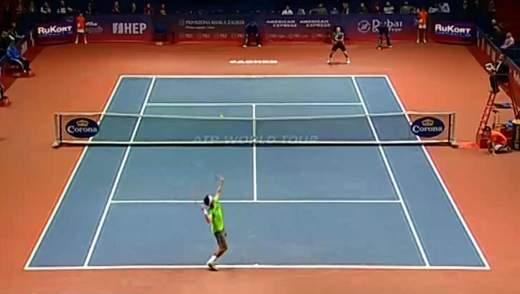 Теннис. Стаховский вышел во второй круг турнира в Загребе