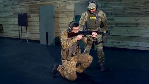 """""""Курс воина"""": позиции готовности с оружием"""