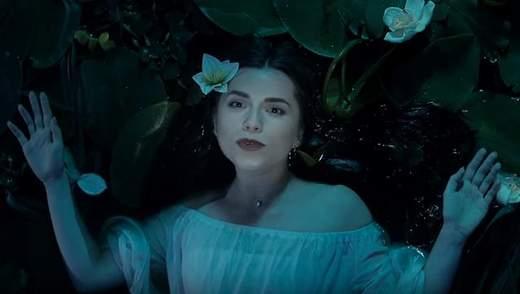 Кристина Соловей представила мистическое видео на лемковскую песню