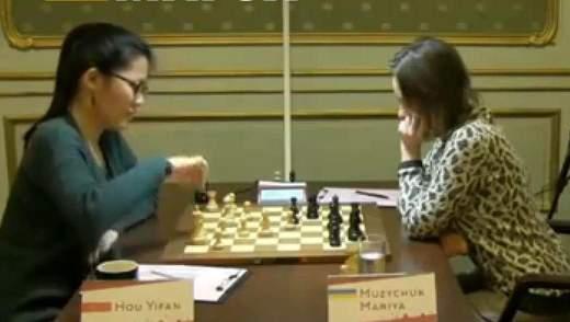 Шахматы: Мария Музычук проиграла вторую партию китаянке