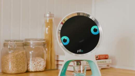 Полезная разработка: робот, который следит за здоровьем хозяев