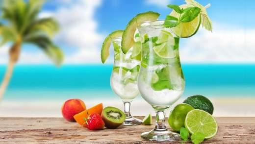ТОП-3 освіжаючих напоїв для спекотного літа