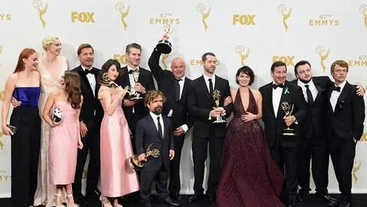 """Серіал """"Гра престолів"""" отримав рекордну кількість премій """"Еммі"""""""