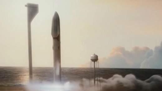 Илон Маск показал, как планирует колонизировать Марс