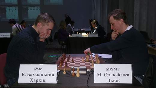 Чемпионаты Украины по шахматам: у мужчин – прояснение, у женщин – туман