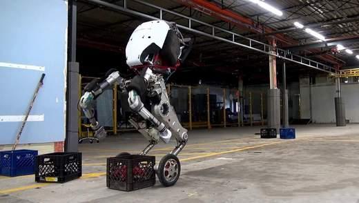 Робот Handle: двухколесный помощник, который без проблем перенесет любой груз