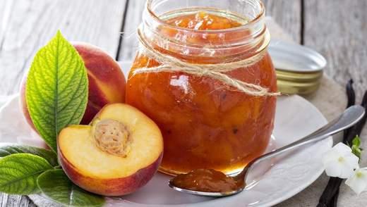 Персиковое варенье: рецепт легкого приготовления