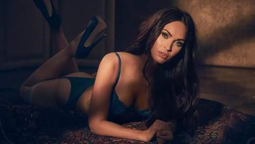 Сексуальна Меган Фокс похизувалась струнким тілом в білизні: спокусливі фото