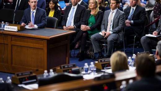 Цукерберга пять часов допрашивали сенаторы