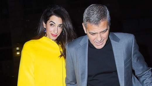 Джордж і Амаль Клуні сходили на побачення в Нью-Йорку: романтичні фото