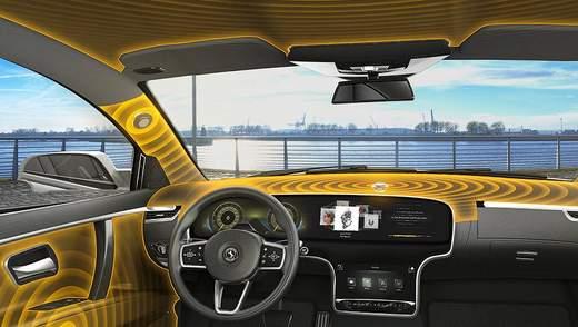 Інноваційна аудіосистема: як елементи інтер'єру авто можуть замінити динаміки