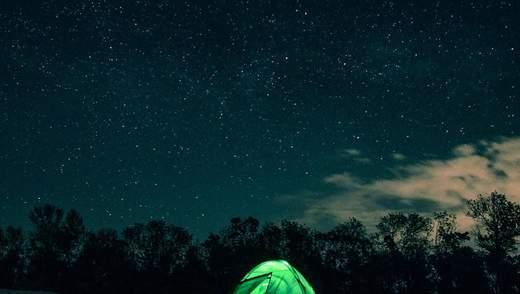 Украинцы наблюдают за первым весенним звездопадом